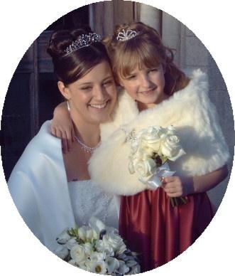 Bride & Bridesmaid by thebleezer