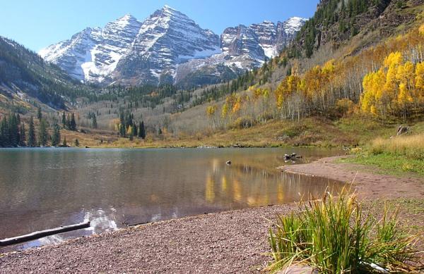 Maroon Bells Lake, Aspen by BrianSS