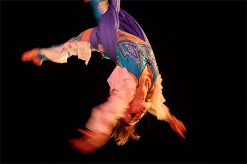 Ribbon dancer by mugenzi