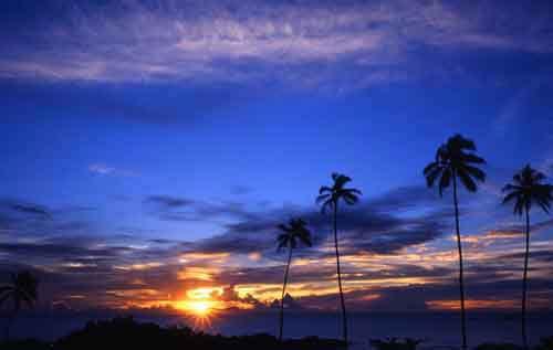Sri Lanka Sunset by RobboB