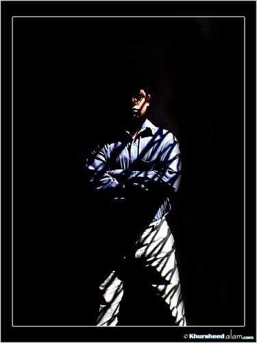 Me & Just Me, me & my Shadow by dotpix