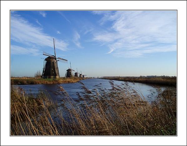 Kinderdijk by conrad