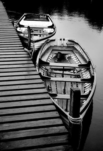 Balmaha Boatyard by mcgoo