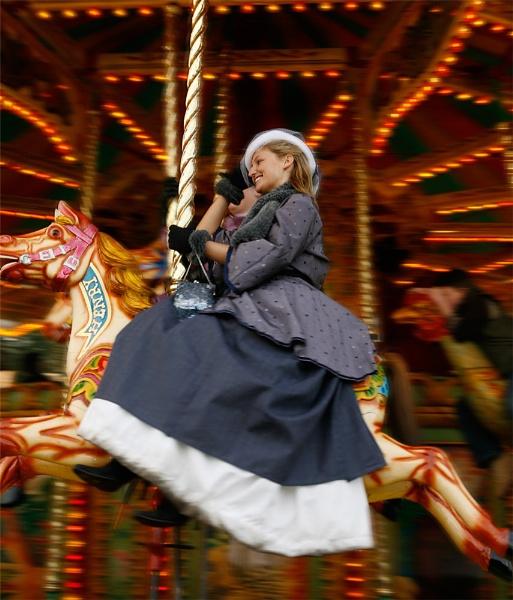 Merry-go-round by teddy