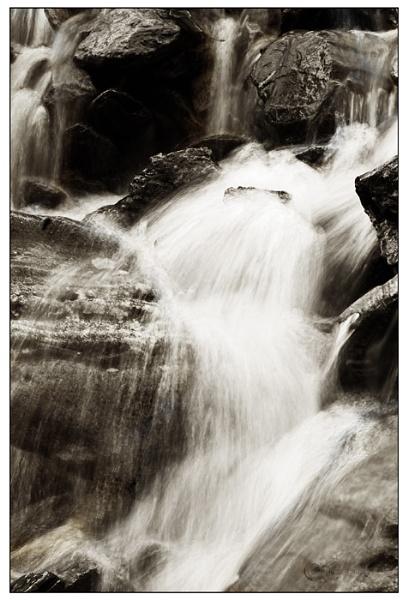 Snowden Waterfall by Hoffy