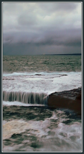 Clouds over Inis oirr by Tooth