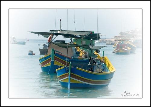 Maltese Boats by Ruggieru