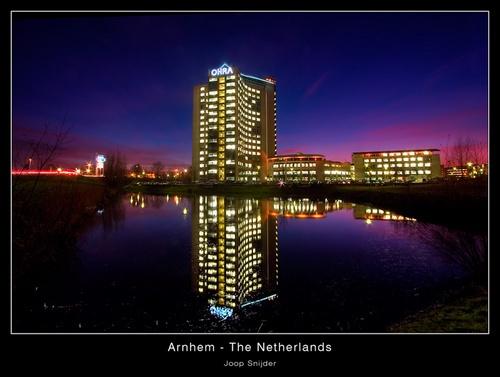 Arnhem by Night by Joop_Snijder