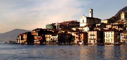 Fishing Village on Monte Isola by Finlayoman