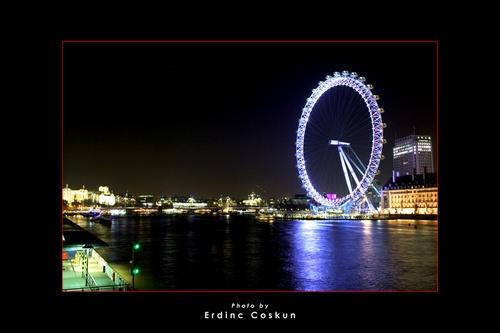 London Eye #2 by erdinc
