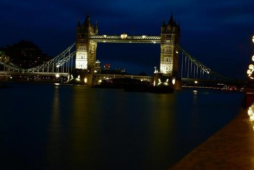 Tower Bridge at Night by SexyDan