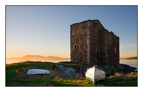 Portencross Castle by johnc1711