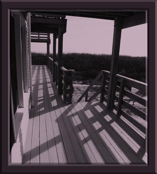 Balcony Noon by nigele1
