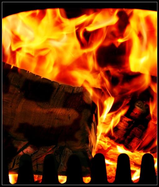 The Log Burner by Morpyre