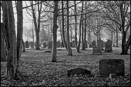 Winter graveyard 1 by wbk666