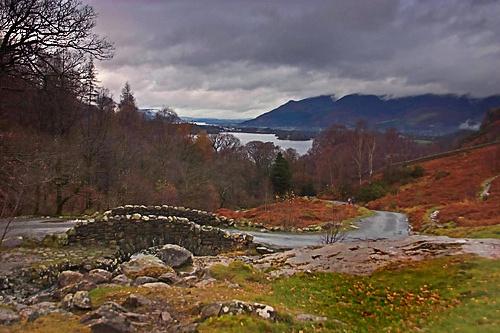 road to derwentwater by arnieg