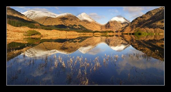 Winter in Glen Etive by johnc1711