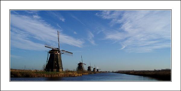 Kinderdijk 4 by conrad