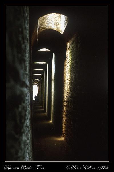 Roman Baths, Trier by Dave_Collier