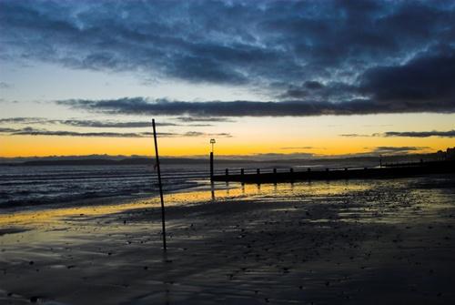 Boscombe Beach Sunset by Ricky34