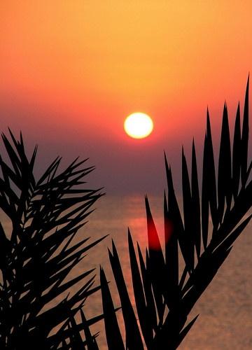 Mediterranean Sunset by BOB_CHATFIELD