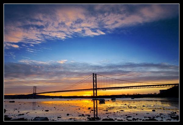 Forth Bridge Sunset by johnc1711