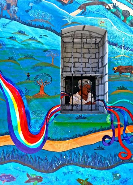 Graffiti Prisoner by cambirder