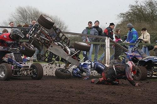 Quad Crash by steavyd