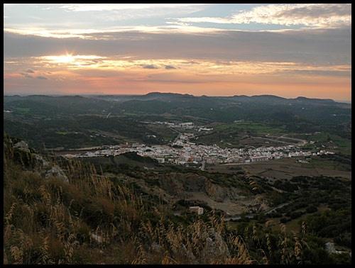 Es Mercadel from Monte Toro, Menorca by Jamawa