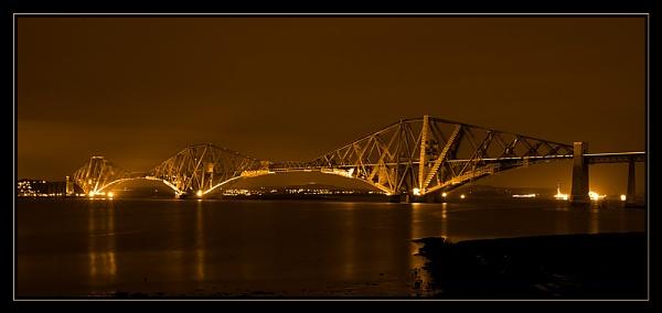 Forth Bridge by kwaterworth