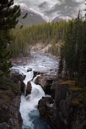 Athabasca Falls, Canadian Rockies