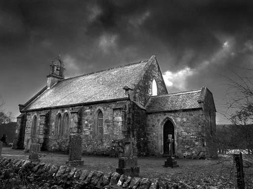 Old church in Scotland by Juliet