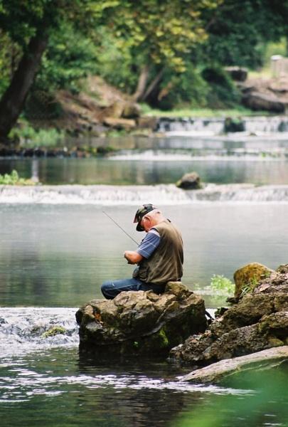 Old Fisherman by wayfarer