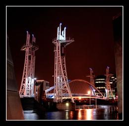 Lowry Bridge @ Night