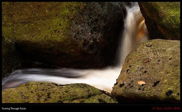Rushing Through Rocks by sut68