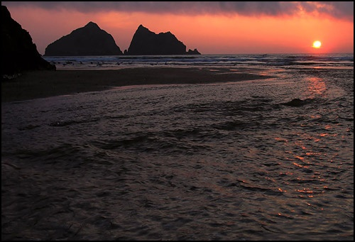 Holywell Sunset by willbrealey