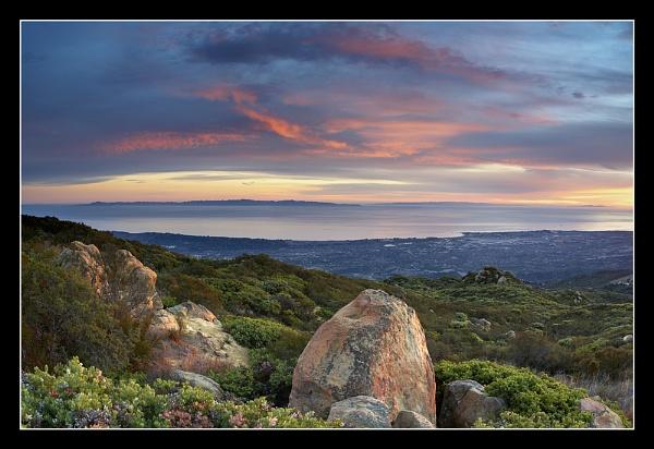 Santa Barbara Evening by PatrickSmith
