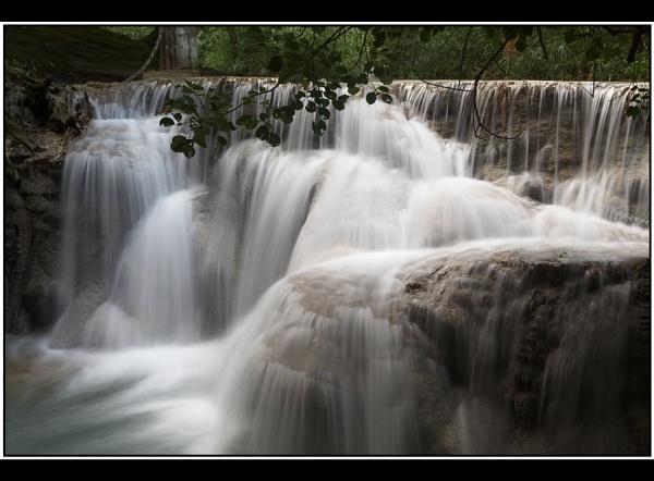 Laos Waterfall by TonyA