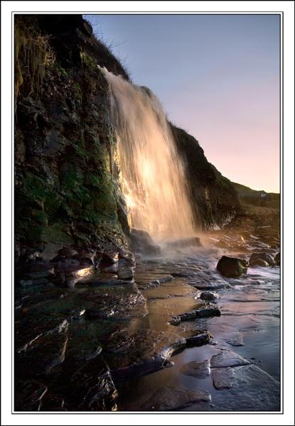 waterfall light by Maddie