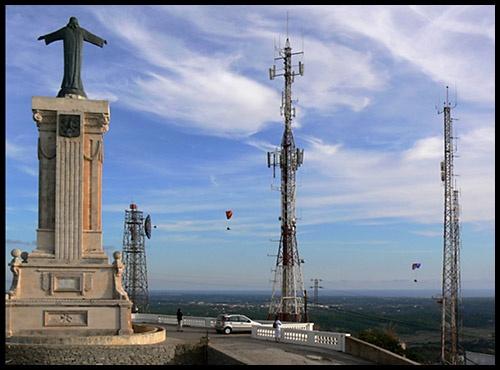 Christ of the pylons by Jamawa
