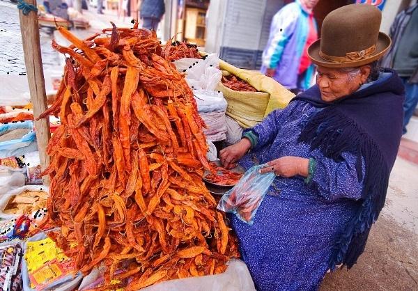 Chilli Vendor by philipr