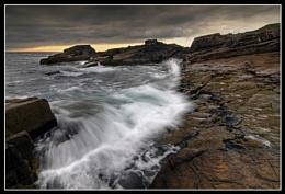 Waves at Stoer Point