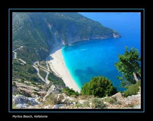 Myrtos Beach by Apollo