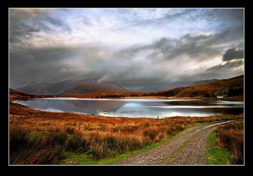 Loch Damh by kinfatric