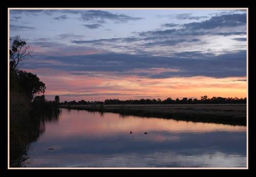 Evening Sunset by kelmac