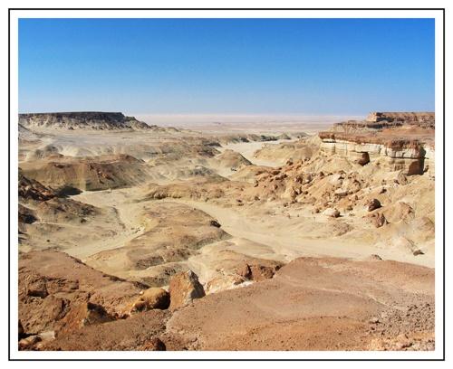 Libyan Scarp by PAllitt