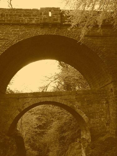 Bridge over a......bridge by flatfoot471