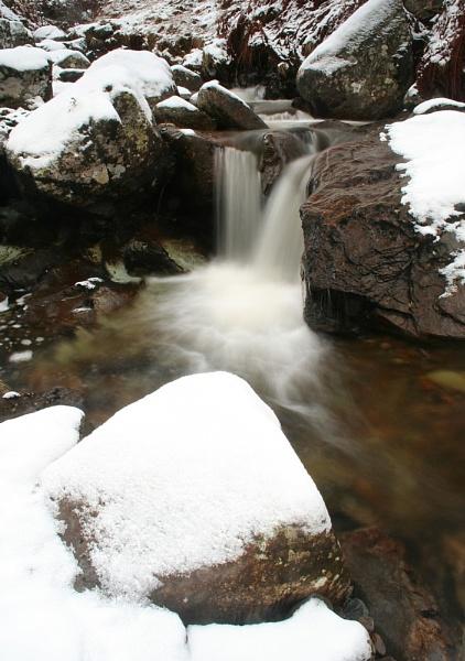 Winter Stream by peterzed