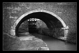 Lock and bridge