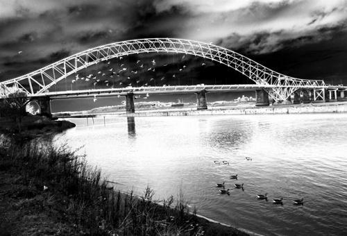 runcorn bridge by sharonf